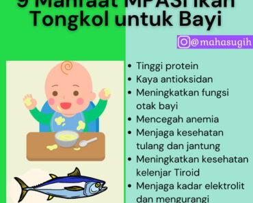 9 Manfaat MPASI ikan tongkol untuk tumbuh kembang bayi